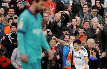 Derrota de Barcelona que por poco termina en goleada