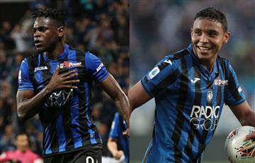 Doblete de Muriel y gol de Duván en la paliza de Atalanta a Torino
