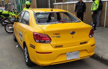 Taxistas destruyeron carro particular pensando que era un Uber