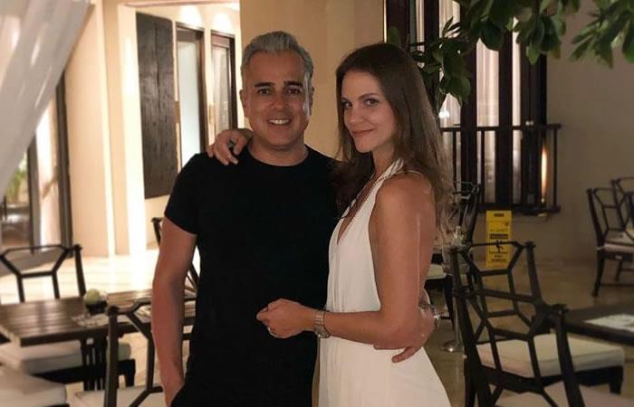 Esposa de Jorge Enrique Abello reveló el rostro de su hija
