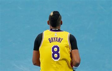 [VIDEO] Tenista en el Abierto de Australia hace un sentido homenaje a Kobe Bryant