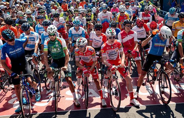 Resultados primera etapa Vuelta a San Juan Argentina Fernando Gaviria