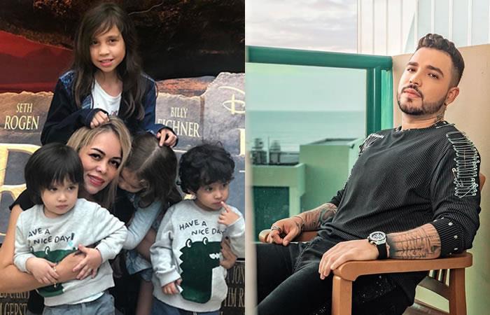 Sandra Barrios revela hombre que comparte con sus hijos