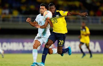 Ecuador no le hizo el favor a Colombia y Argentina se acerca al cuadrangular final