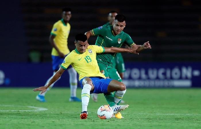 Bolivia cayó ante Brasil en el Preolímpico 2020