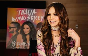 [VIDEO] Escucha 'Ya tú me conoces', lo nuevo de Thalía junto a Mau y Ricky