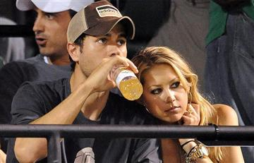 Fotos confirman que Enrique Iglesias y la tenista Anna Kournikova esperan a su tercer hijo