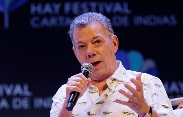 Juan Manuel Santos fue presidente de Colombia entre 2010-2018. Foto: EFE