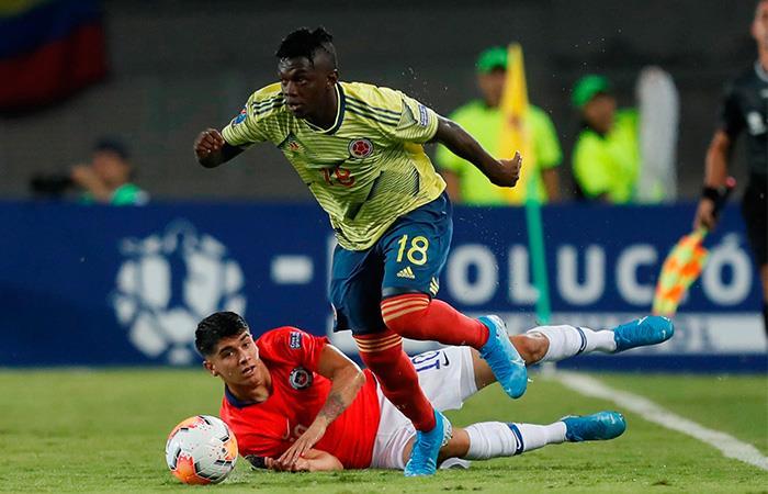 Torneo Preolímpico Resultado Colombia vs Chile Cuadrangular final