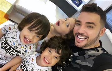 Jessi Uribe enterneció a sus seguidoras con video jugando con sus hijos