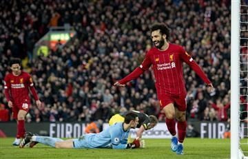 Liverpool goleó a Southampton y acumula 42 partidos sin perder