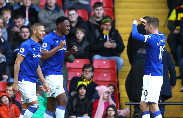 Yerry Mina sigue siendo pieza clave en Everton. Foto: Twitter