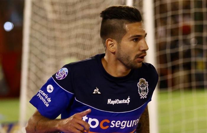 Agudelo marcó su primer gol en Argentina. Foto: Twitter