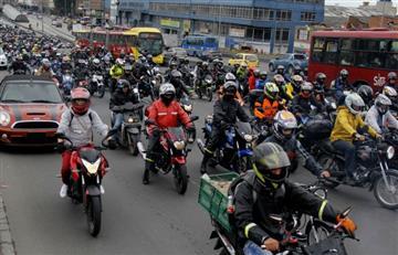 Con pico y placa para motos se busca salvar SITP y TM