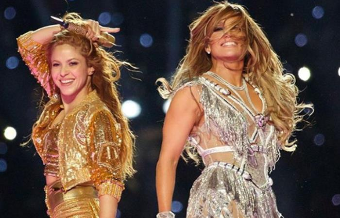 Presentación Shakira JLO Super Bowl