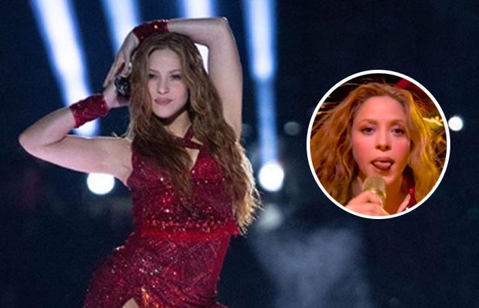 Significado gesto Shakira con la lengua super bowl