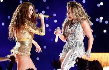 Shakira se luce en el show de medio tiempo del SuperBowl