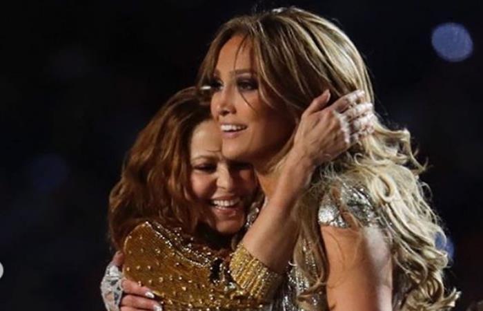 Video Shakira y J Lo después del Super Bowl