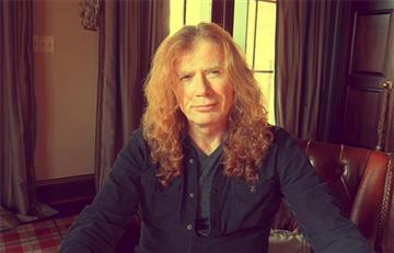 """Cantante de Megadeth está """"100% libre de cáncer"""""""