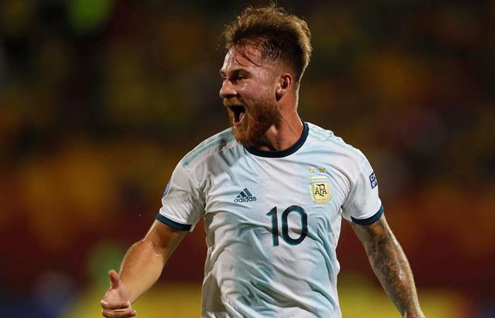 Mac Allister fue la figura de Argentina. Foto: EFE