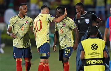 [VIDEO] En un gran juego, Colombia gana un punto de oro ante la favorita Brasil