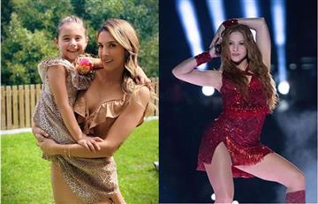 Hija de James Rodríguez y Daniela Ospina es la sensación en redes por bailar como Shakira