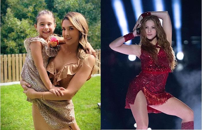 Salomé intenta bailar como Shakira