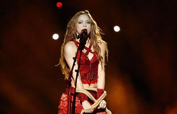 Shakira dedica emotivo mensaje a Colombia