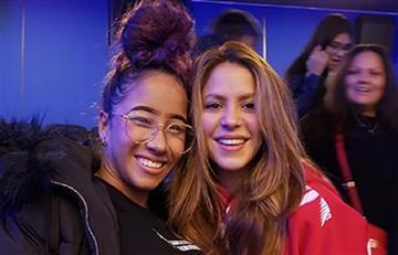 Shakira presenta a su profesora de 18 años que le enseñó a bailar champeta para el Super Bowl