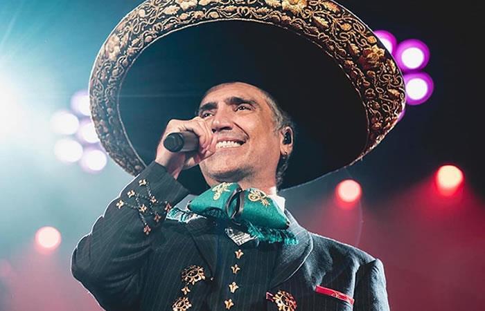 Alejandro Fernández en estado de embriaguez