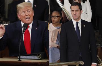 """Maduro quedará aplastado y roto"": La promesa de Donald Trump a Juan Guaidó"