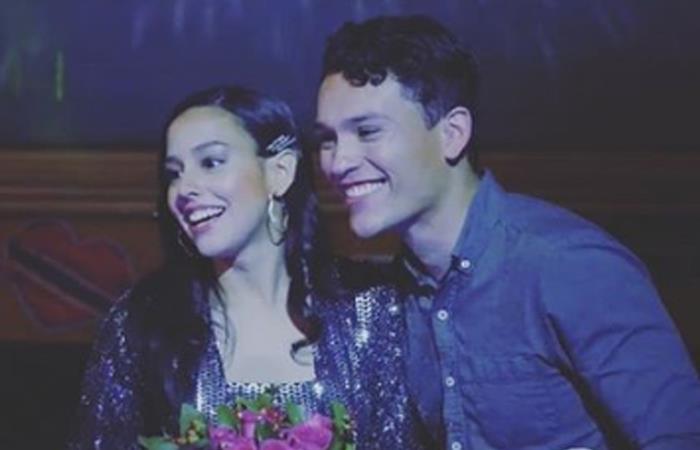 Esposo de Ana María Estupiñán actuó en 'Amar y vivir'