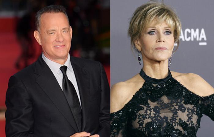 Tom Hanks y Jane Fonda ya ganaron en los Premios Oscar. Foto: Twitter