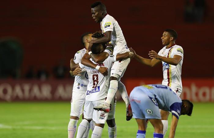 Resultados Copa Libertadores Victoria Tolima vs. Macará
