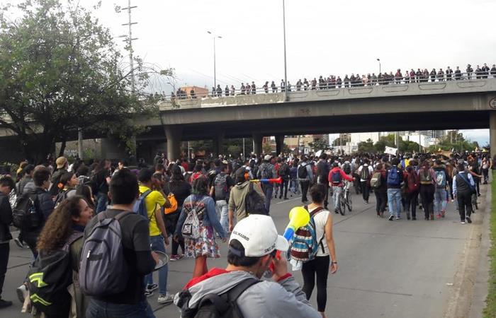 El llamado a Paro Nacional generó las amenazas. Foto: Interlatin