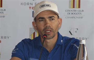 Camilo Villegas es líder en el Country Club de Bogotá Championship 2020