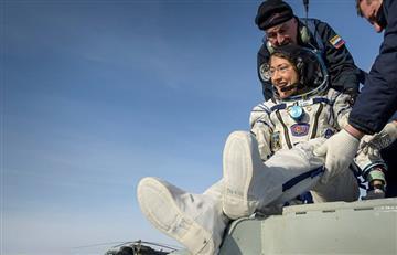Christina Koch regresa a la Tierra como la astronauta con más días en el espacio
