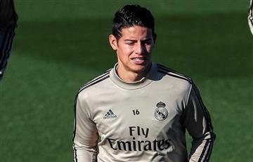 James sigue perdiendo oportunidades para ganarse la confianza de Zidane