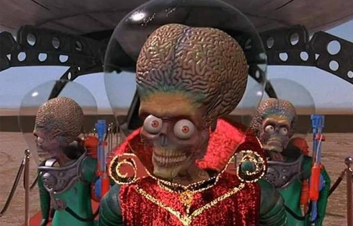 Marcianos al Ataque mars Attacks remake 2020
