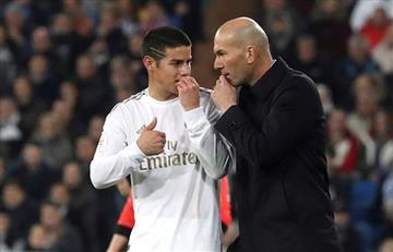 [VIDEO] Real Madrid con James en el primer tiempo, quedó eliminado de la Copa del Rey