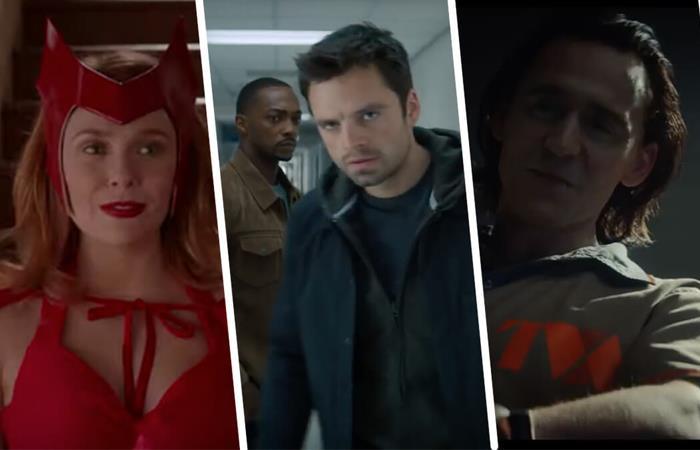 Series Marvel Disney Plus fecha de estreno Wandavision Loki Falcon and the winter soldier