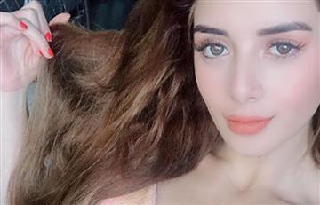 Hija de Marbelle vuelve a ser sensación en redes con sugestiva foto en hilo