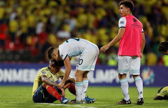 Torneo Preolímpico Resultado Colombia vs Argentina Cuadrangular Final