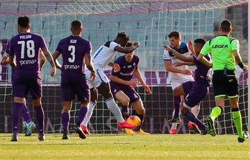 [VIDEO] Duván Zapata anota en la victoria ante Fiorentina