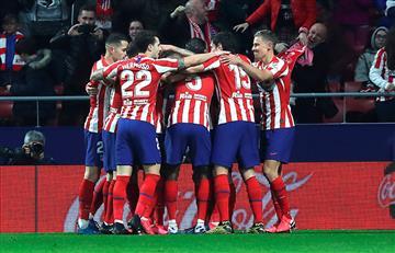 Pese a las bajas, Atlético de Madrid venció a Granada
