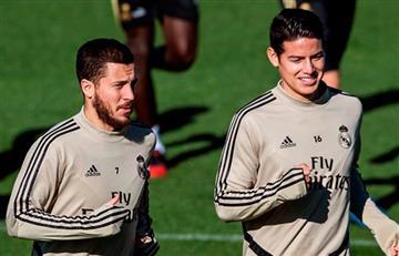 Vuelve y juega... James Rodríguez se lesiona y es baja de Real Madrid