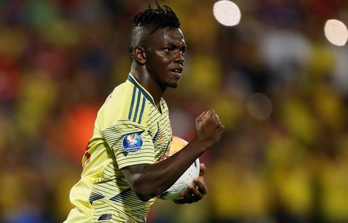 Colombia espera ganarle a Uruguay y espera que Brasil no le gane a Argentina. Foto: EFE
