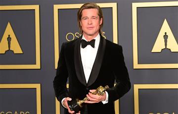Brad Pitt gana su primer 'Óscar' como actor gracias a 'Érase una vez en Hollywood'