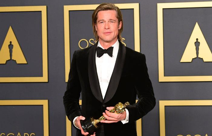 Brad Pitt premio oscar actor reparto once upon a time in hollywood
