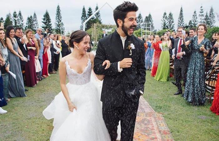 Camilo y Evaluna viven incómodo momento en su boda